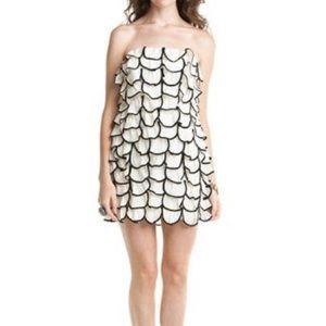 Leifsdottir cream petal dress